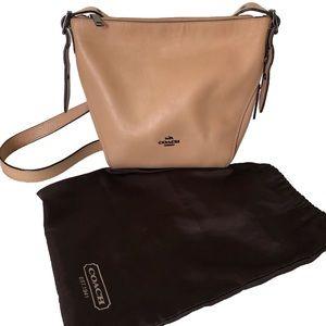 Coach Tan Brown Bucket Shoulder Bag Handbag